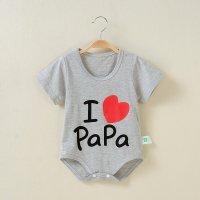 ชุดบอดี้สูทเด็ก I love PaPa