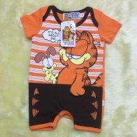 ชุดเด็กลายแมวการ์ฟีลด์(Garfield) แบบรอมเปอร์