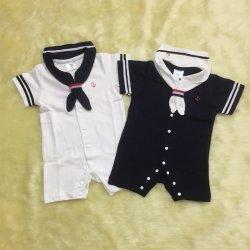 ชุดเด็กชุดบอดี้สูทเด็ก รอมเปอร์ คอซอง สไตล์ทหารเรือราคาถูก