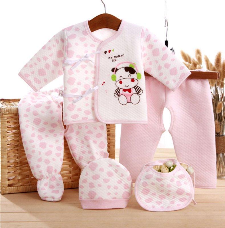 ชุดกิ๊ฟเซ็ทเด็ก (Baby Gift Set) ลายวัว
