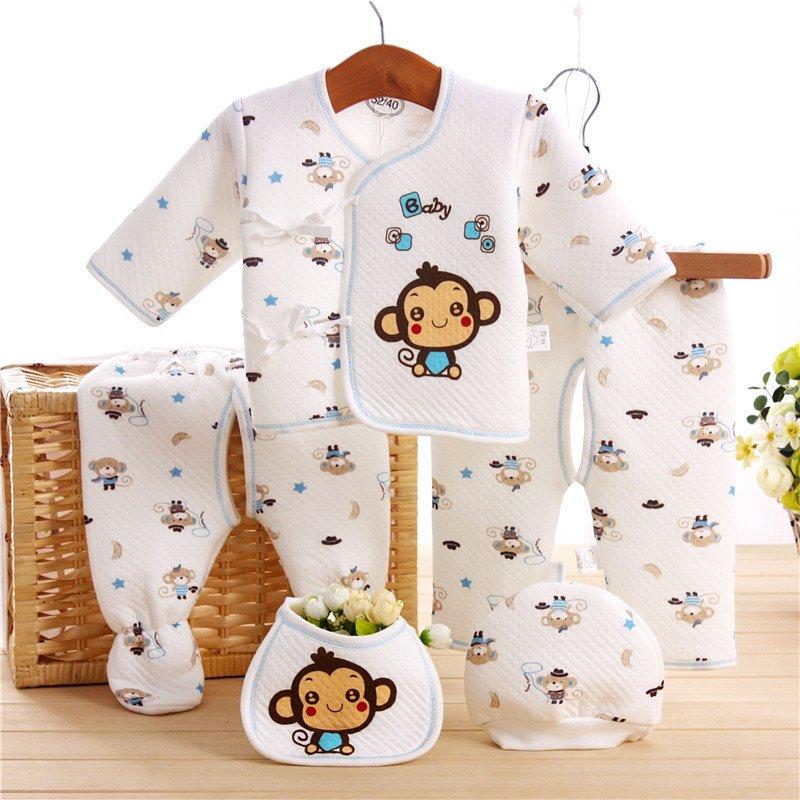 ชุดกิ๊ฟเซ็ทเด็ก (Baby Gift Set) ลายลิง