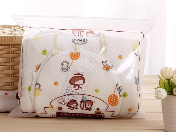 ชุดกิ๊ฟเซ็ทเด็ก (Baby Gift Set) ลายลิง (มี 5 ชิ้น) ผ้านุ่ม ห่อถุงพลาสติก